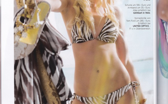 bereit für den Sommer – Bikinishooting für das Moments Magazin
